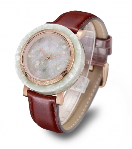 China Jade Stainless Steel Wrist Watch Gift DC-changever04