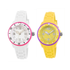 Candy Color Kids Rubber Watch for Christmas Day