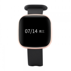 Z8Smart Bracelet Gold Color Environmental Watch Strap Heart Rate Monitor