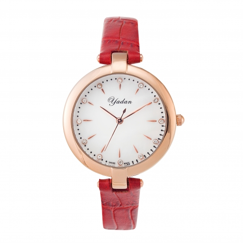 Fashion Mediterranean Promotional Women Crystal Promotional Watches