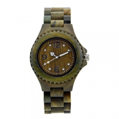 New fashion custom Quartz  wooden wrist watch for  Christmas gift