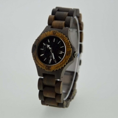 New fashion OEM japan movement wooden watch