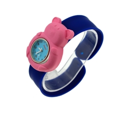 Christmas gift watch silicon sports watch colorful animal shape for children