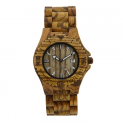 OEM original  high quality luxury man wooden watch