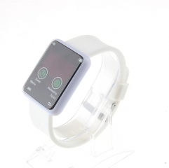 silicon watch smart watch with more functions watch white color watch