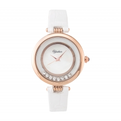 Beautiful diamond  Luxury Business waterproof Quartz Watch for Lady