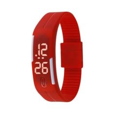 smart bracelet colorful strap digital display adjustment strap silicon material