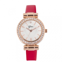 OEM Diamond vogue stainless steel waterproof  Ladies Watch