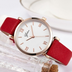 Promotion  wholesale Lady Simple waterproof Wrist Watch