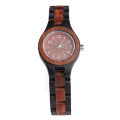 Custom Top-Quality  business Wooden  Quartz wrist Watch