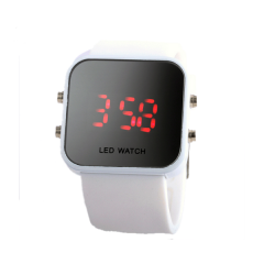 high quality hot sale watch silicon watch LED watch with digital display watch