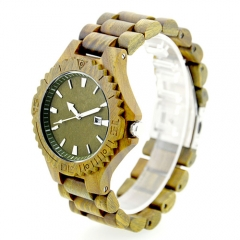 Business custom logo Hot Sale Promotional Wooden Watch