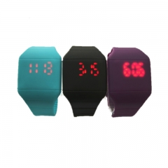 slight watch silicon watch LED watch with digital display watch special watch