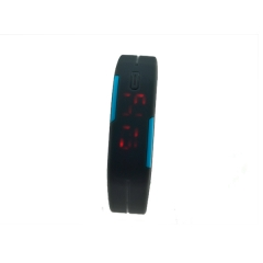 LED watch within different color watch silicon material high quality  cheaper hot sale watch
