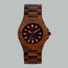 New style Gift vogue Quartz Wooden Wrist Watch
