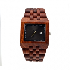 ODM/OEM Fashion hot sales  Quartz Men's Wooden Watch