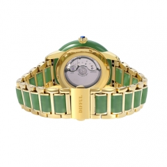 OEM retail luxury gift China traditional Hetian jade watch