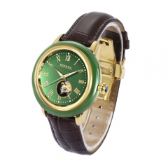 OEM China traditioal style hetian jade watch