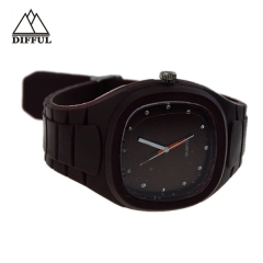 silicon material more colors watch high quality unisex watch jelly watch
